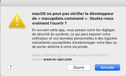 Le VPN ovpn updater