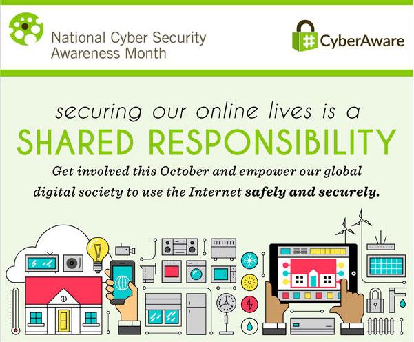 Mes de la Conciencia Nacional sobre la Seguridad Cibernética