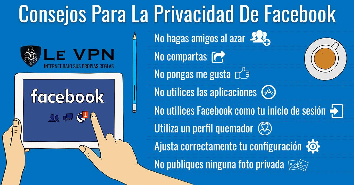 Seguridad De Las Redes Sociales: Consejos Para Una Cuenta De Facebook Segura | Le VPN