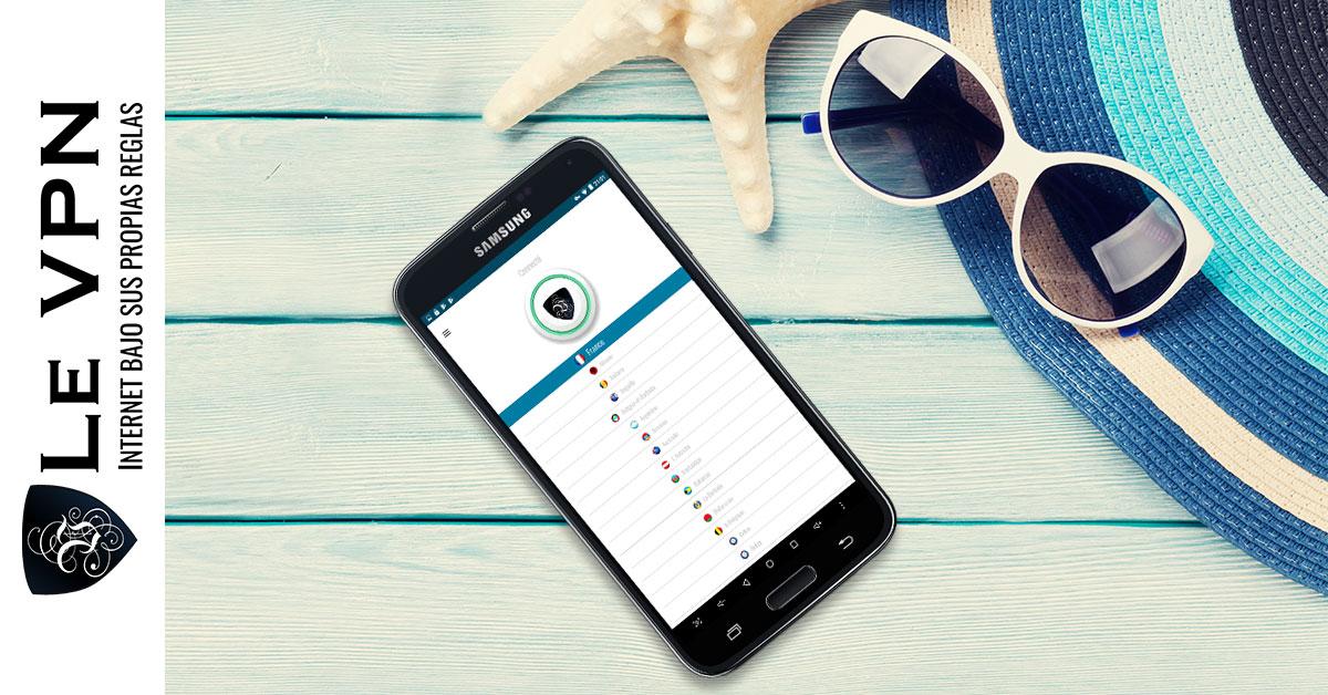 Seguridad de teléfonos móviles en casa y en el exterior.