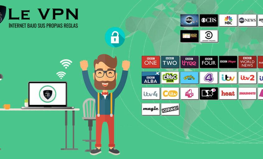 Por qué hay programas de TV bloqueados en ciertos países.