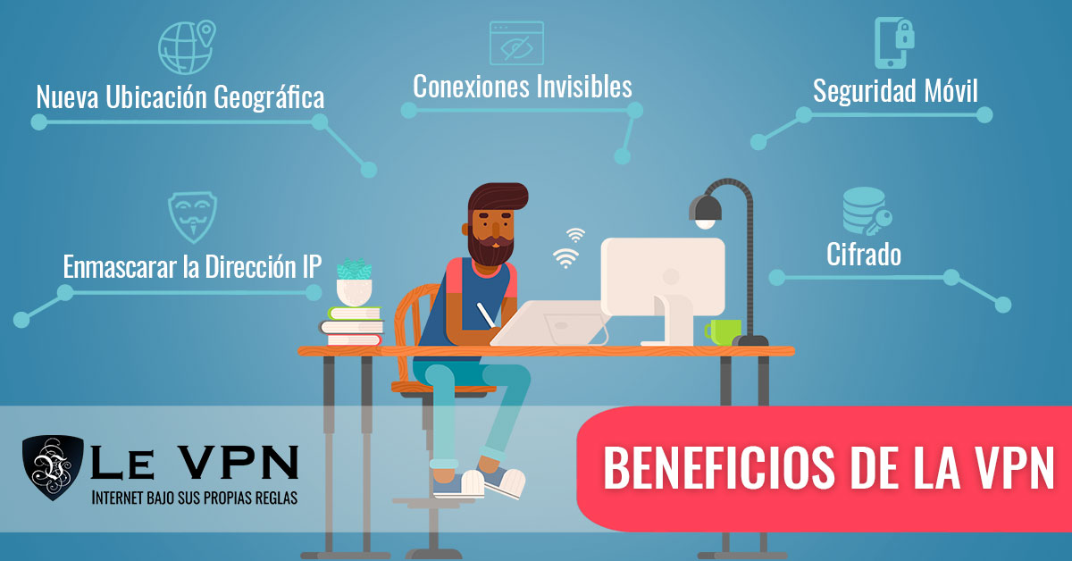 Beneficios de la VPN | Le VPN