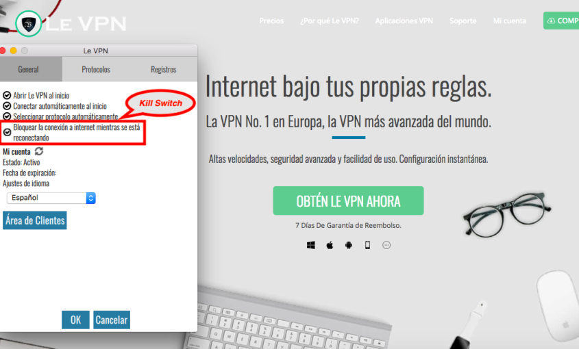VPN Kill Switch: ¿Qué Es Kill Switch Y Por Qué Sólo Usar VPN Con La Función Kill Switch? | Le VPN