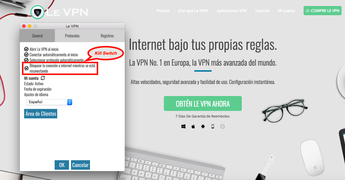 VPN Kill Switch: ¿Qué Es Kill Switch Y Por Qué Sólo Usar VPN Con La Función Kill Switch?