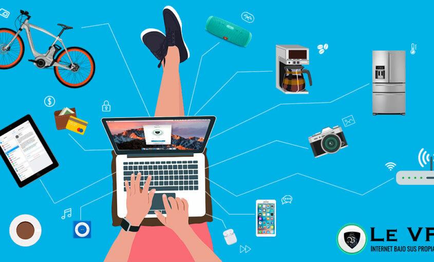 Beneficios y riesgos de IoT. Evita la geolocalización. | Le VPN