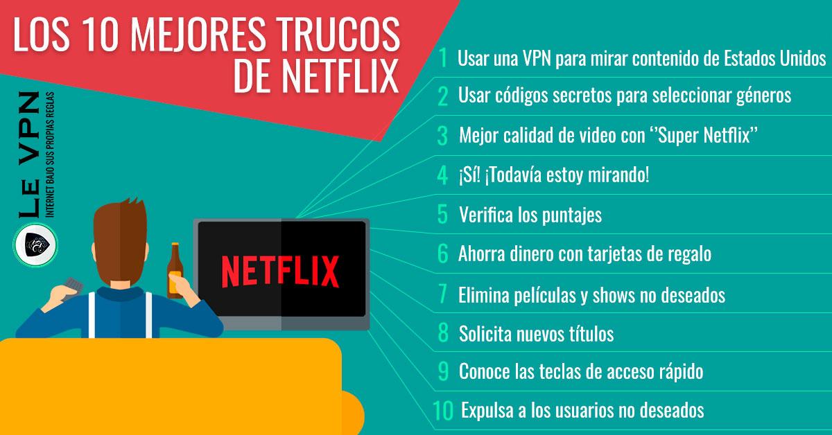 Los 10 Mejores Trucos de Netflix Que Cambiarán Tu Vida