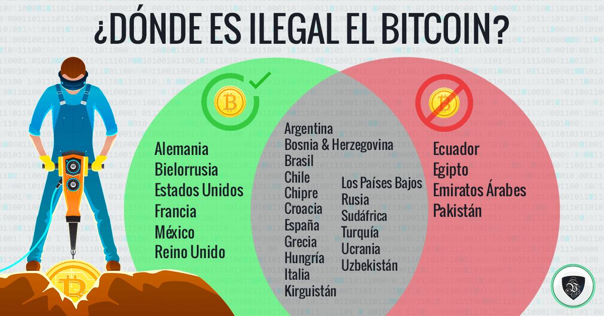 ¿Dónde es Ilegal el Bitcoin?: Obtén Tu Porción de la Torta