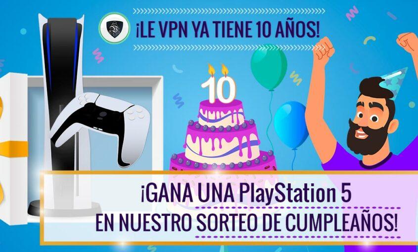 Sorteo de Le VPN: ¡Gana PlayStation 5! | Le VPN
