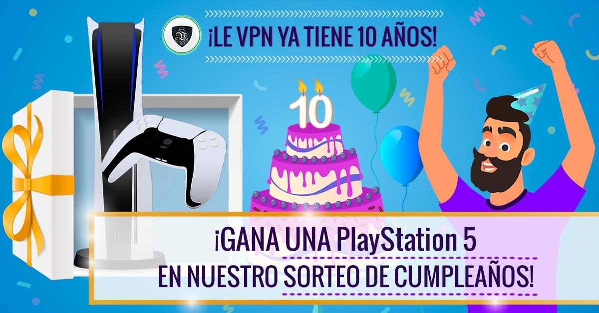 Sorteo de Le VPN: ¡Gana PlayStation 5! | Le VPN