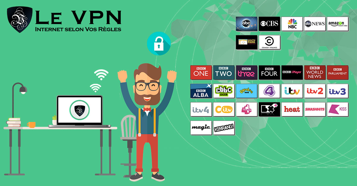 «How I met your mother» et «The Big Bang Theory» en direct avec Le VPN