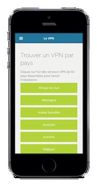 Le VPN pour iPhone   A quoi sert Le VPN
