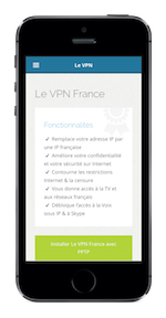 L'application Le VPN pour iOS | VPN à quoi ca sert
