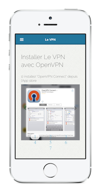 Installer VPN sur iPhone avec OpenVPN