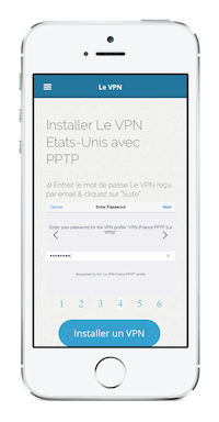 Installer Le VPN sur iPhone avec PPTP