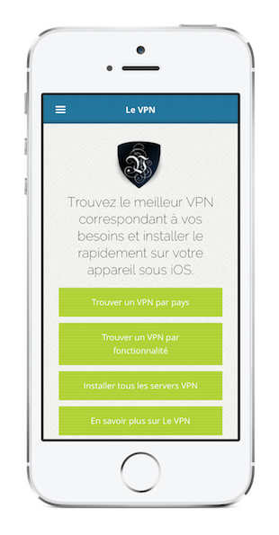 Application VPN pour iPhone | serveur VPN iPhone
