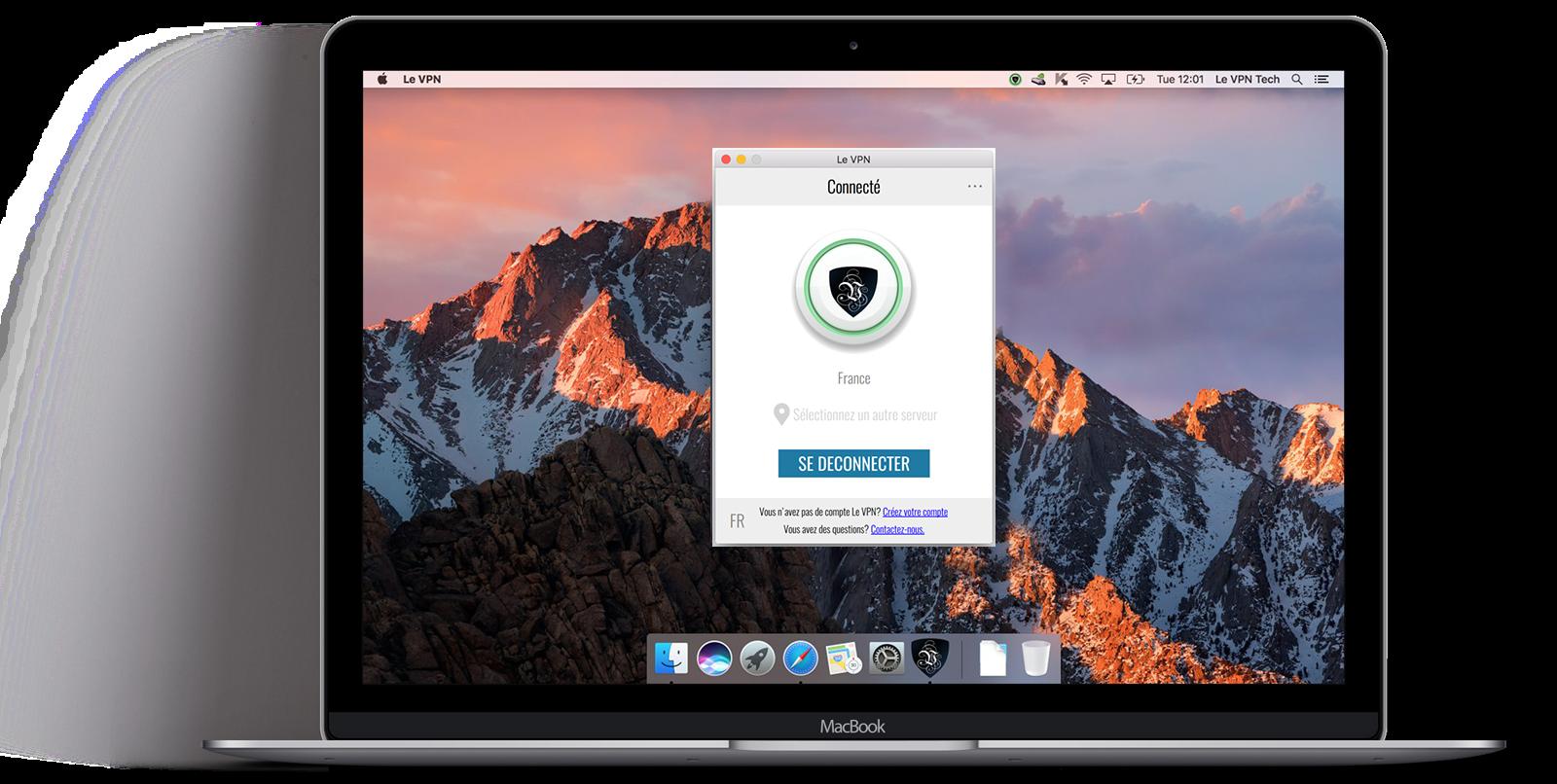 Le VPN Mac | Le VPN pour Mac | Le VPN sur Mac | Connexion VPN Mac