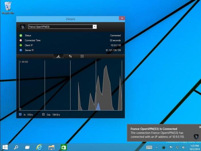 Le VPN sur Windows10