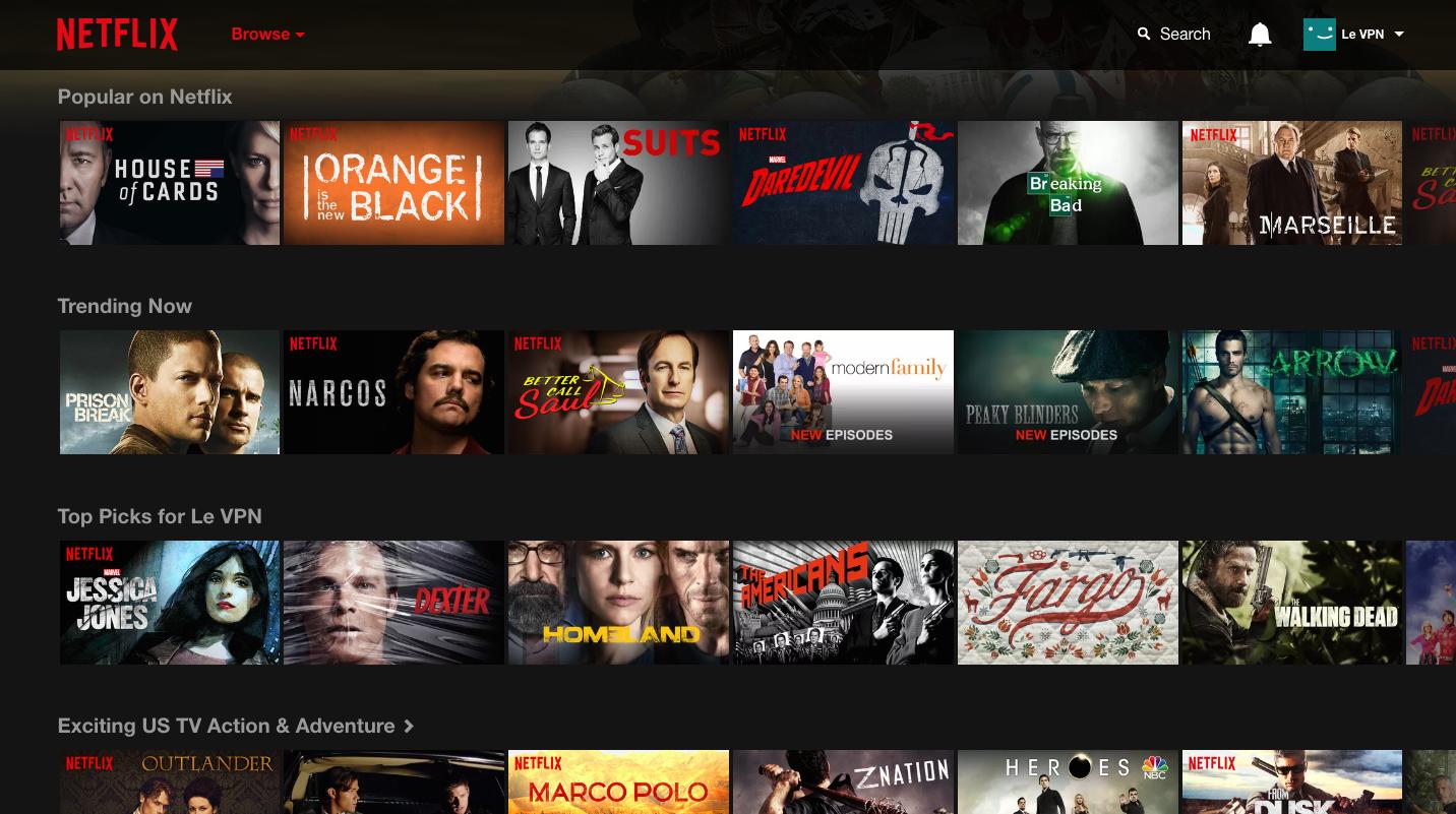 Netflix: Système de recommandation personnalisé