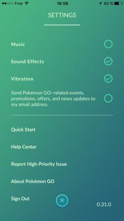 Gérez la batterie et les données d'utilisation Pokemon Go