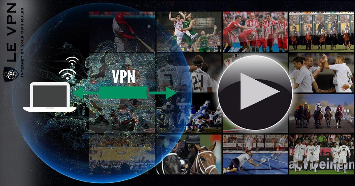 Pourquoi vous avez besoin d'un VPN pour regarder le Sport sur Internet en direct | Le VPN