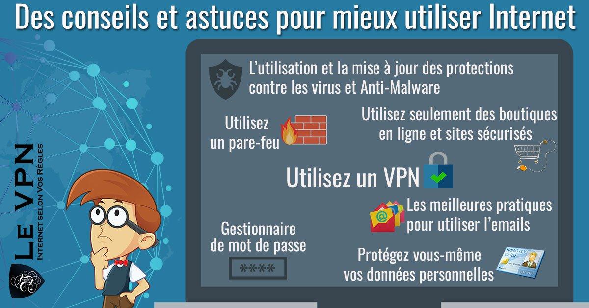 Des conseils et astuces pour mieux utiliser Internet | Astuces sur Internet | Le VPN