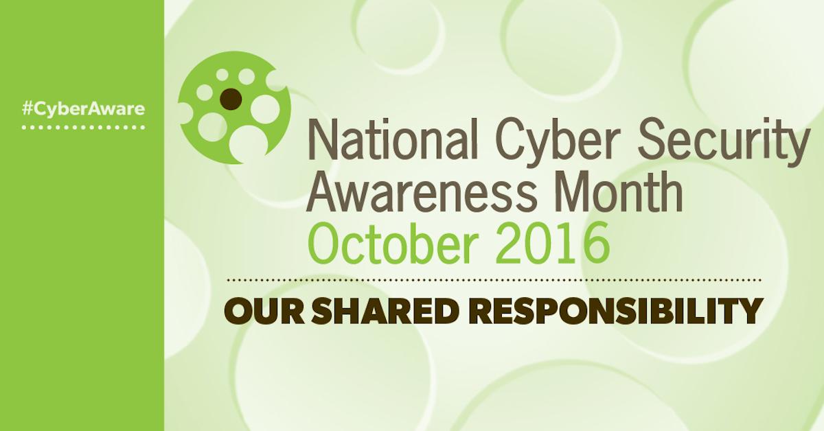 Le Mois de la Sensibilisation Nationale pour la Sécurité sur Internet