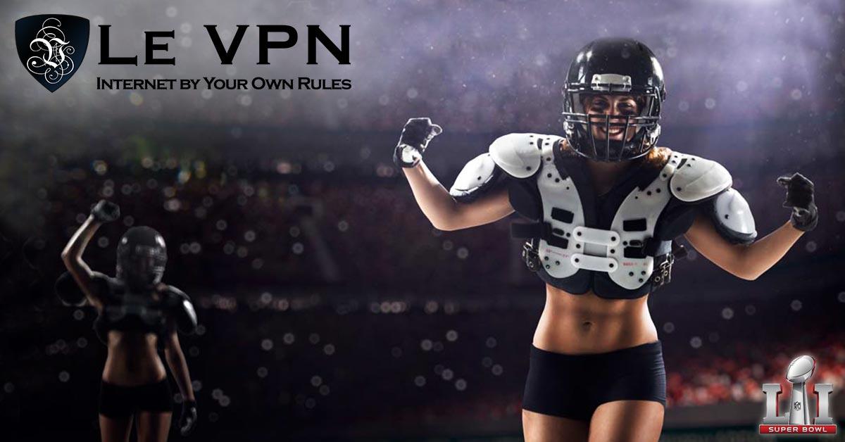 Regarder le Super Bowl en ligne grâce à HybridVPN ou SmartDNS, par Le VPN