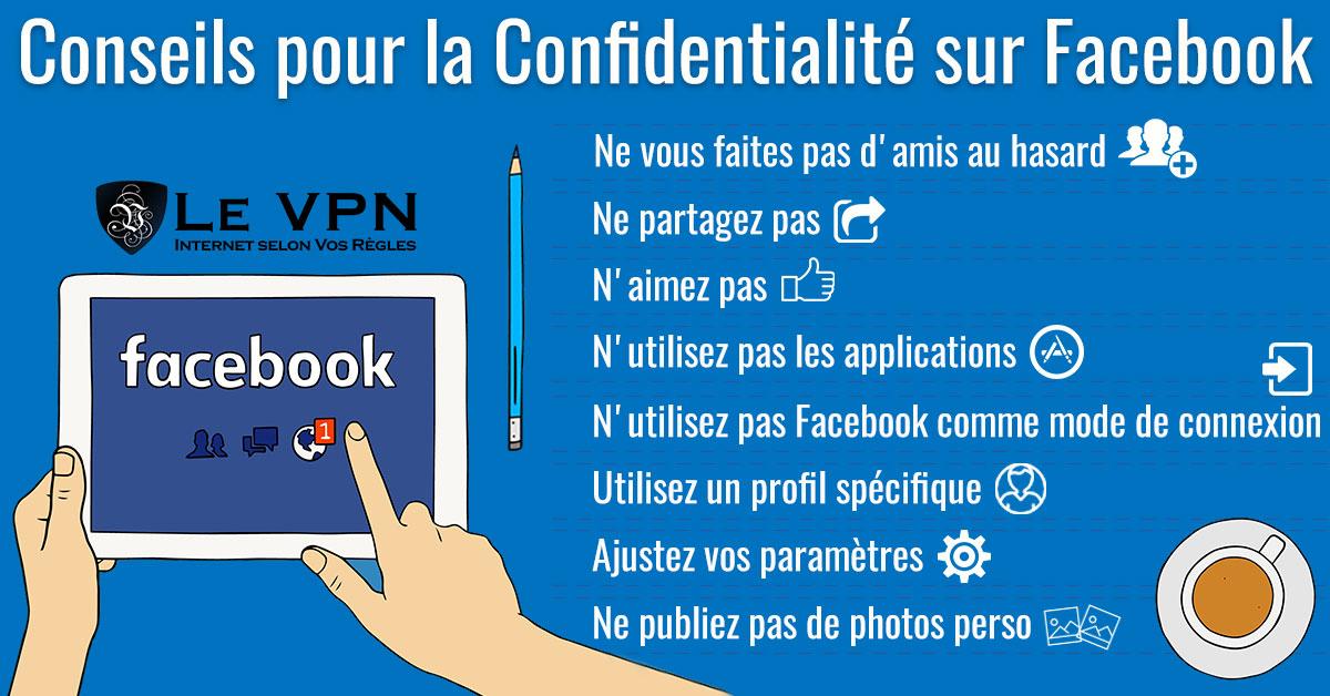 Conseils pour sécuriser votre compte Facebook