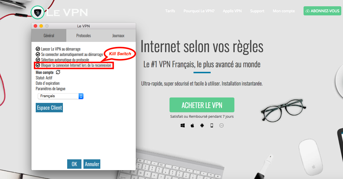 Kill Switch VPN : qu'est-ce que le Kill Switch ? | Le VPN