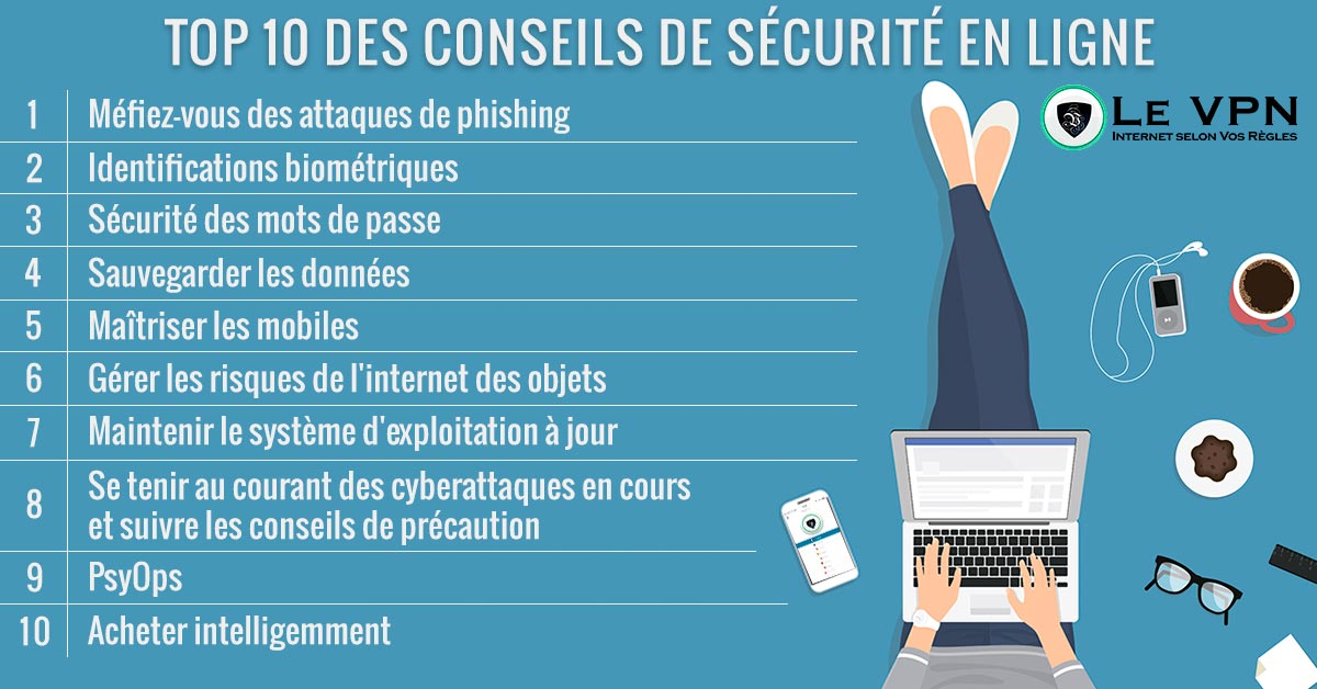 Top 10 Des Conseils De Sécurité En Ligne Pour 2018