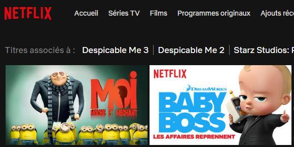Recherche Netflix France