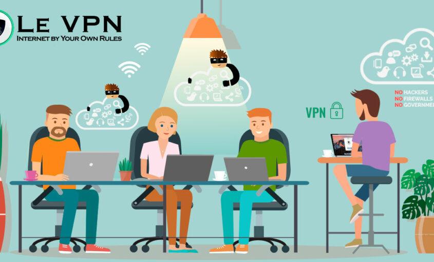 En octobre, c'est le mois de la cyber sécurité, Le VPN en parle.