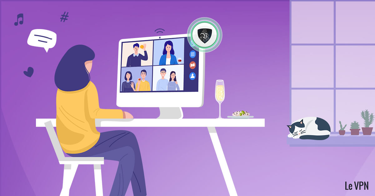 Télétravail et Zoom : le Covid révèle une faille de sécurité. | Le VPN