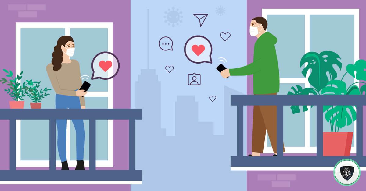 L'amour au temps du corona : comment gérer les rencontres en ligne ?
