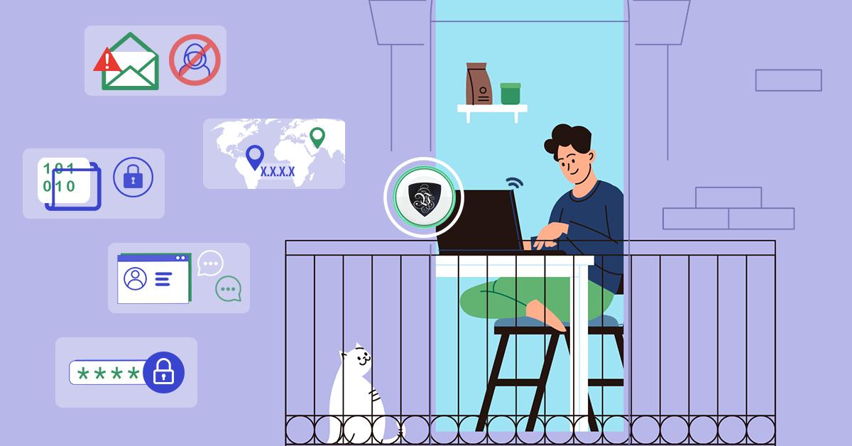 Travail en ligne : comment rester en sécurité? | Le VPN