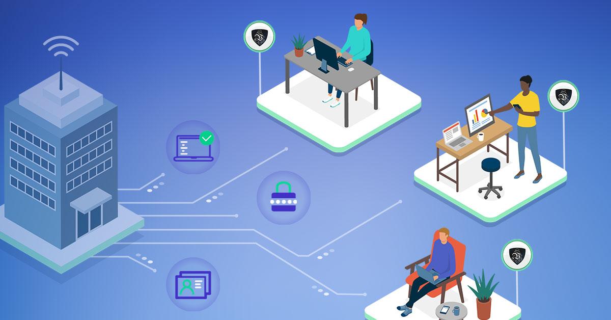 Télétravail : conseils de cybersécurité pour les entreprises. | Le VPN