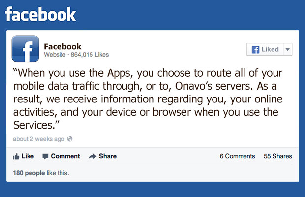 Facebook data collection | Le VPN