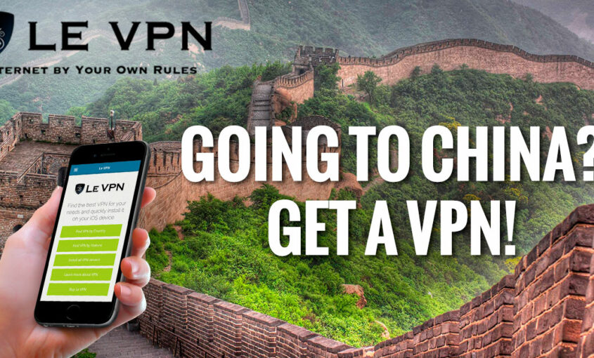 Internet chinese censorship thightens.   Le VPN