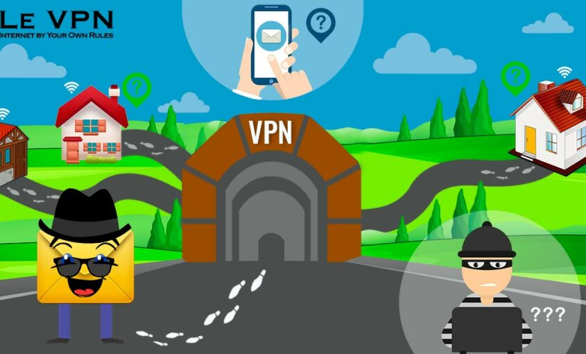 Don't let your IP address be compromised.   Le VPN