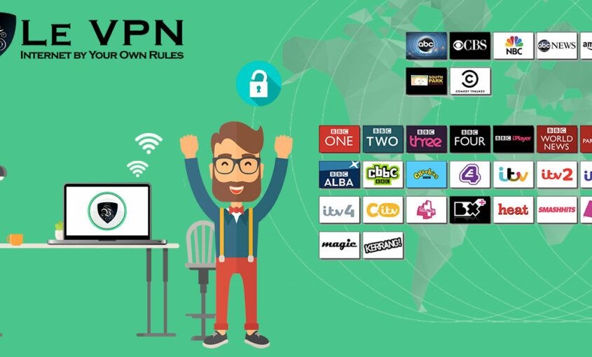 Le VPN helps unblock the blocked content in three easy steps. | Le VPN