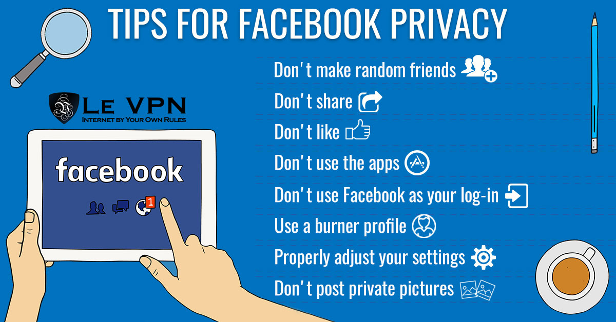 Social Media Security: Tips for a secure Facebook account | Le VPN