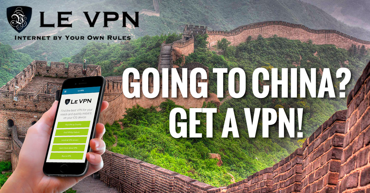 China Plans Ban On VPN Services By 2018