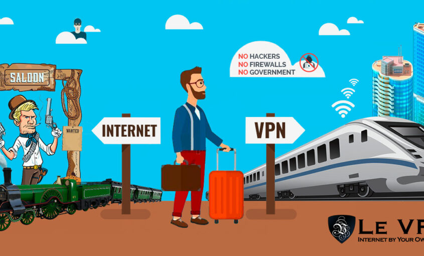 Cybersecurity: Le VPN's world class servers ensure privacy.