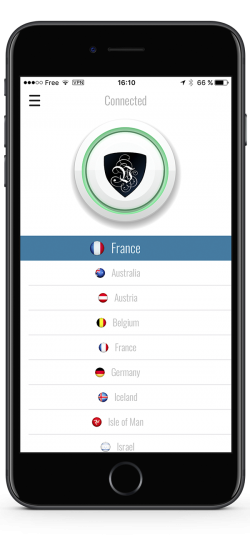 The Le VPN iPhone App