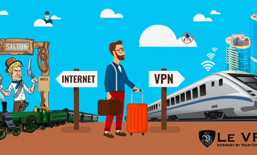 Change IP address and browse internet anonymously with VPN.