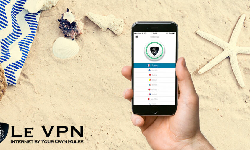Change geo IP, and access websites blocked in your country.   Le VPN