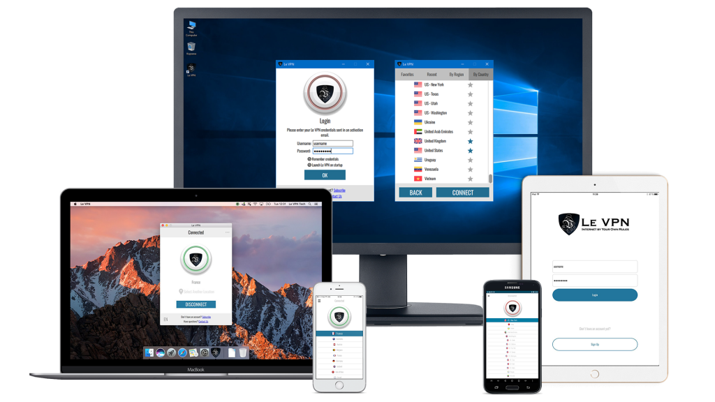 Install VPN on different platforms | Le VPN