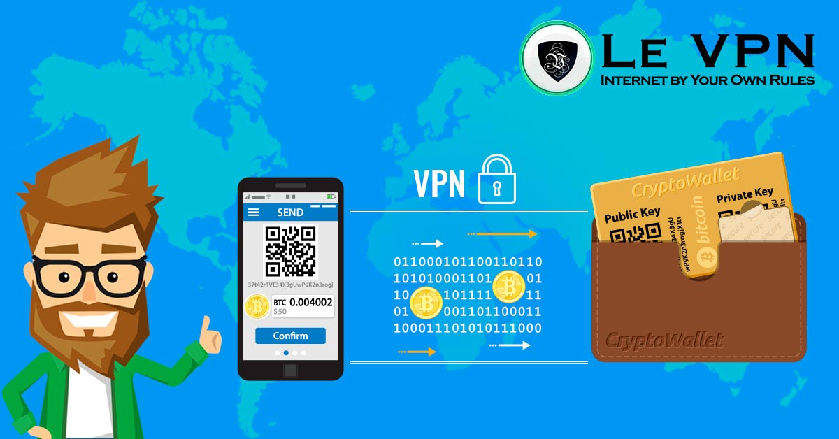 Why you need a reliable VPN for crypto wallet management | How to protect your cryptocurrency with a VPN | VPN for cryptocurrency | VPN for cryptocurrencies | VPN for cryptowallet | VPN for crypto wallets | Crypto Wallet VPN | Cryptocurrency security | Le VPN