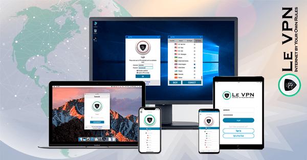 Windows VPN Software | Le VPN for Windows 10, 8, 7, Vista, XP