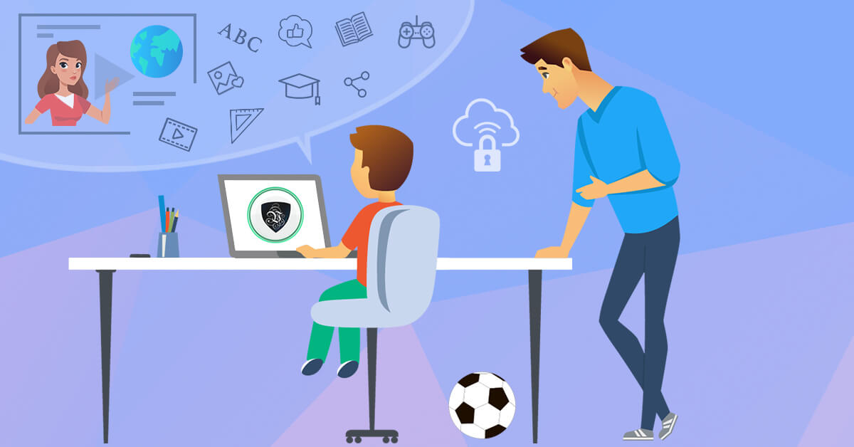 Digital Health: Virtual Classes are not Only Risky for Parent's Mental Health. | Le VPN